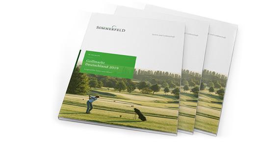 Broschüre Golfmarkt Deutschland
