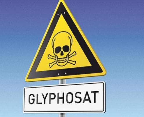 Warnung Glyphosat