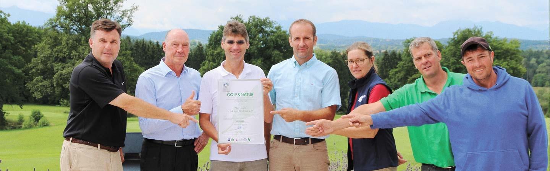 Golf & Natur Zertifikat