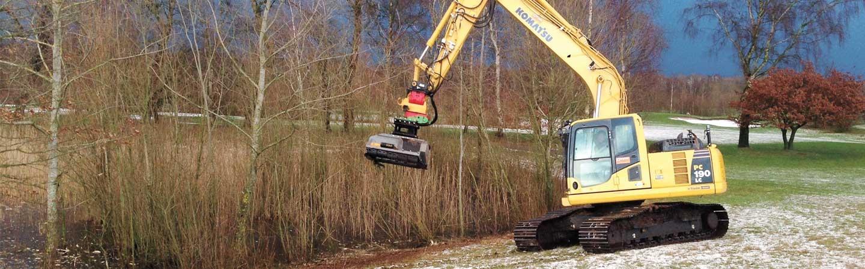 Teichpflege im Winter