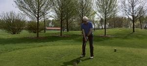 Golfer GC am Meer