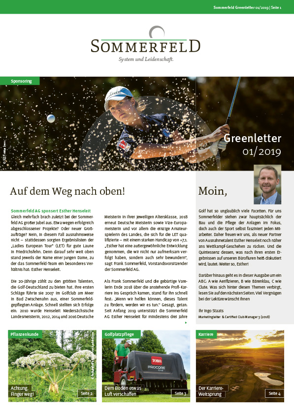 Sommerfeld_Greenletter_01_2019