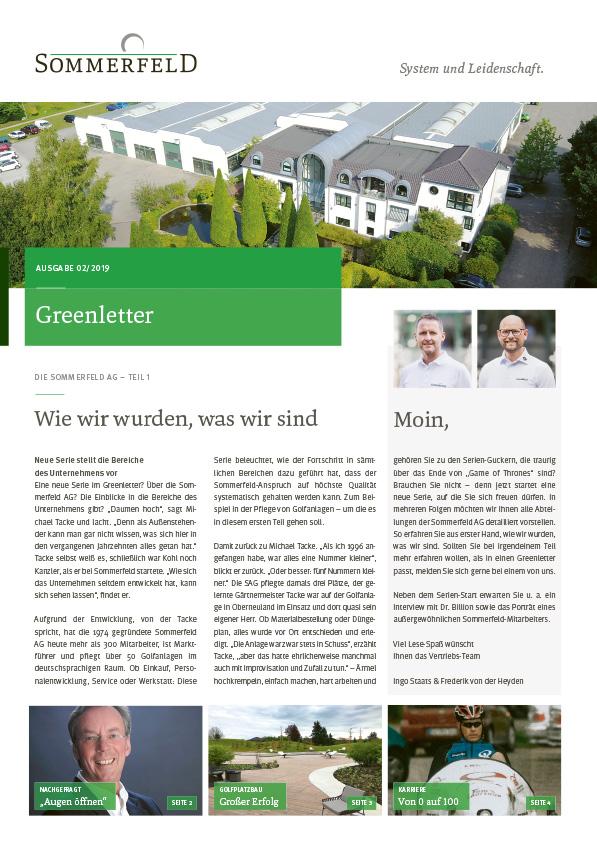 Sommerfeld_Greenletter_02_2019