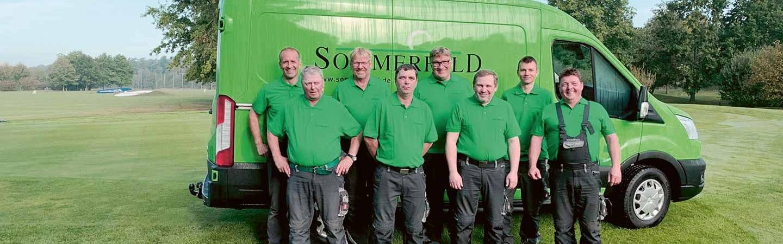 Sommerfeld Greenkeeping Team