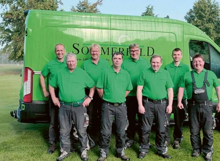 Sommerfeld Greenkeeping Team