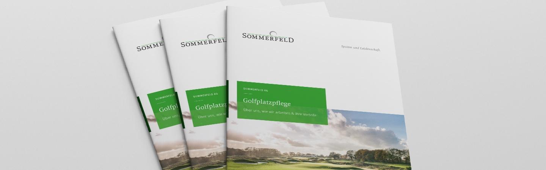 Sommerfeld Broschüre Golfplatzpflege