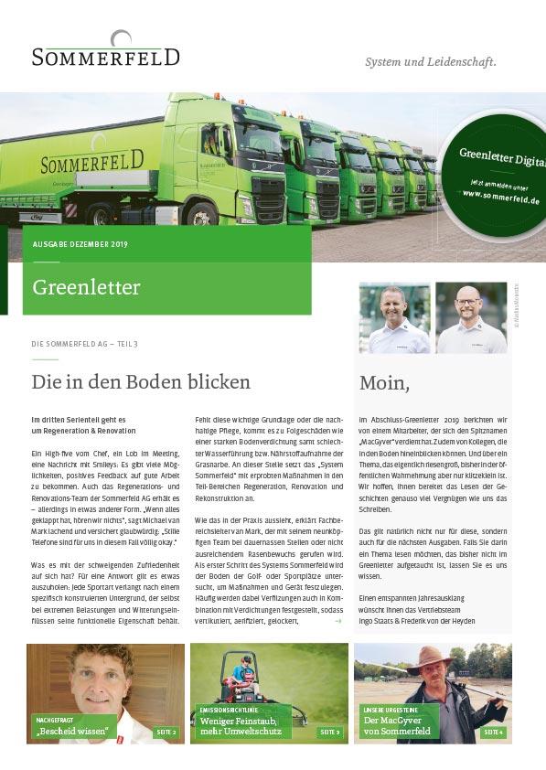 Greenletter 04/2019